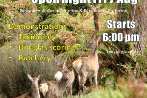 Hunters' Open Night – Friday 7th August